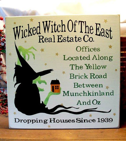 Realtor With Images Halloween Signs Witch Halloween Printables