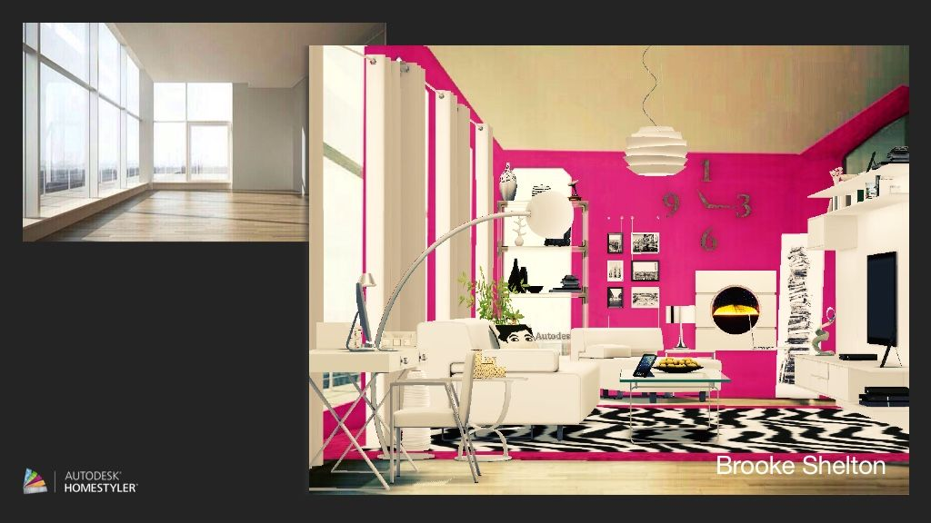This is my design that I created on the Homestyler app titled \