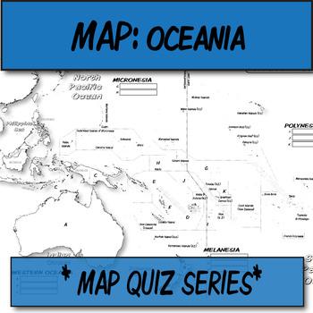 QUIZ Oceania Political Map **Coloring Book Series | Human Imprint ...