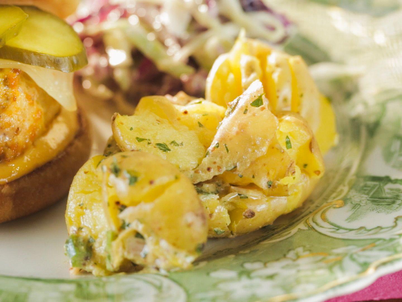 Smashed potato salad recipe trisha yearwood potato salad smashed potato salad forumfinder Choice Image