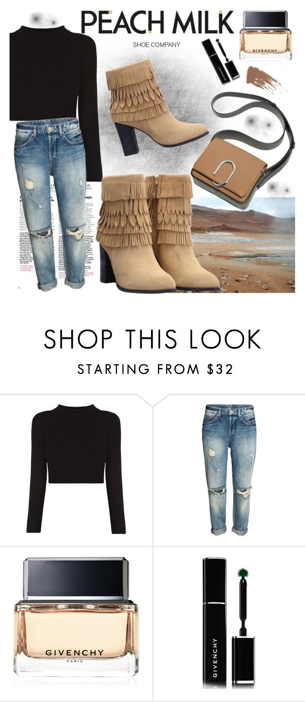 """PEACH MILK"" by gaby-mil ❤ liked on Polyvore featuring Givenchy, Shoe and peachmilk"