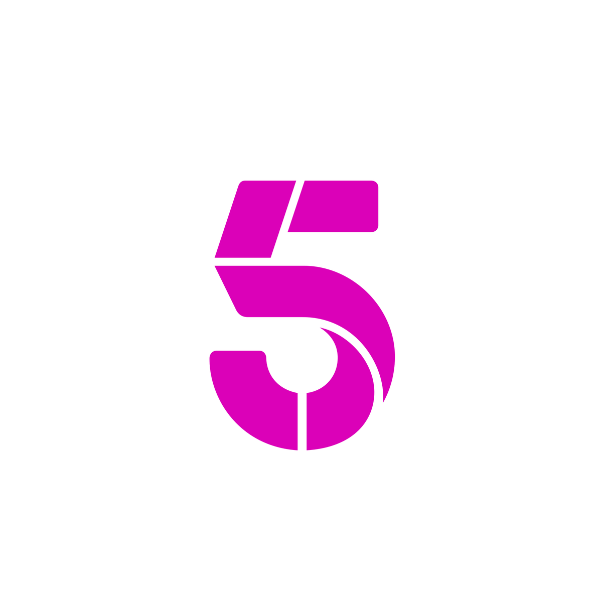Channel 5 Svg Logo Logo Number Number 5 Life Logo