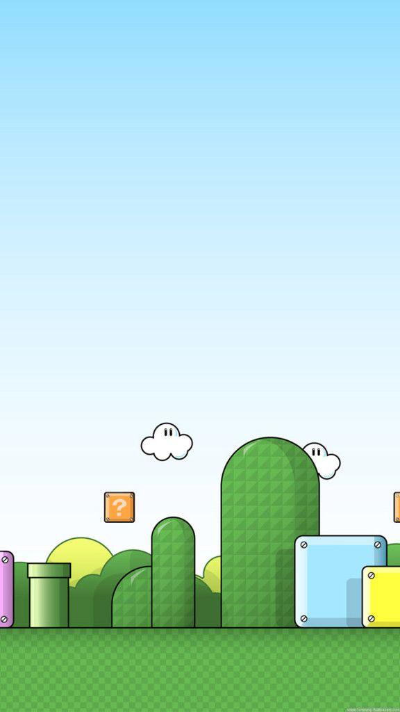 Super Mario World Mountains Wallpaper For Mobile Phone