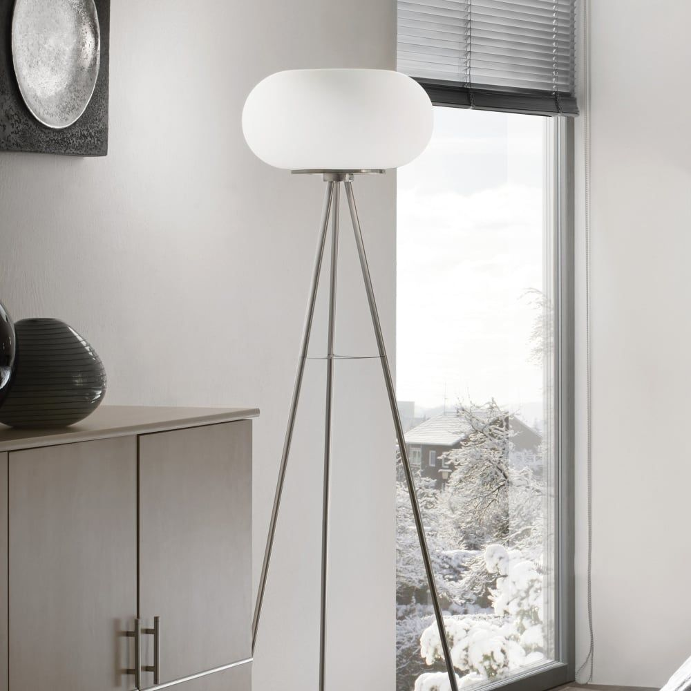 How To Decorate A Rented Property In 2021 Globe Floor Lamp White Floor Lamp Crystal Floor Lamp