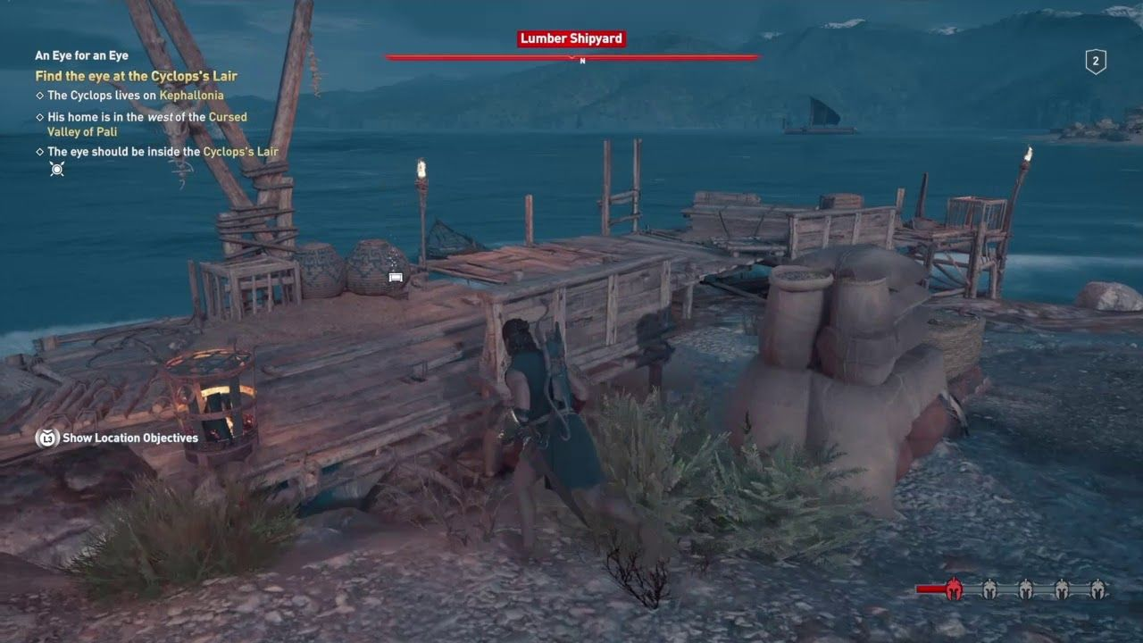Assassins Creed Odyssey Gameplay Recap Eye For An Eye