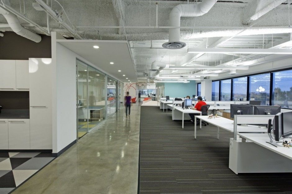 Dreamhost offices like the exposed services offices for Interior design services
