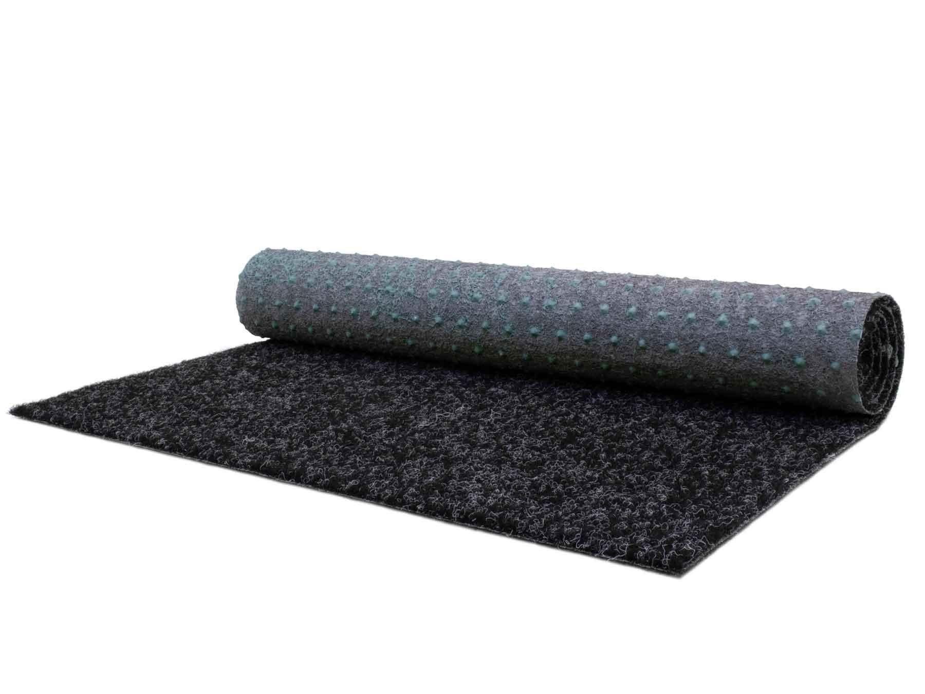 Primaflor-ideen In Textil Teppich  »PARK«, 133×2800 cm, 7 mm Gesamthöhe, grau