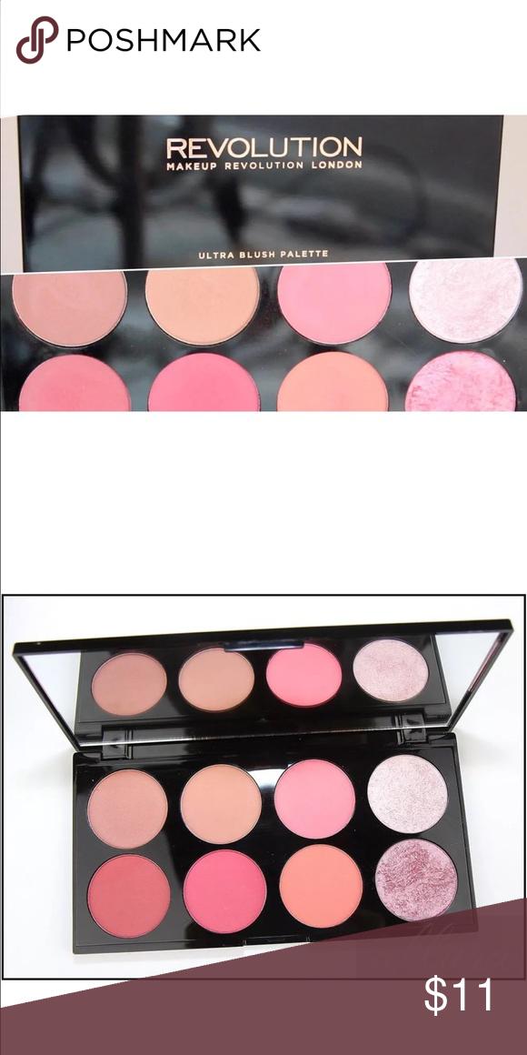 Makeup Revolution Ultra Blush & Contour Palette Makeup