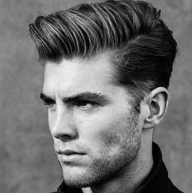 Mannerfrisuren Trend 2016 Seitenscheitel That Guy