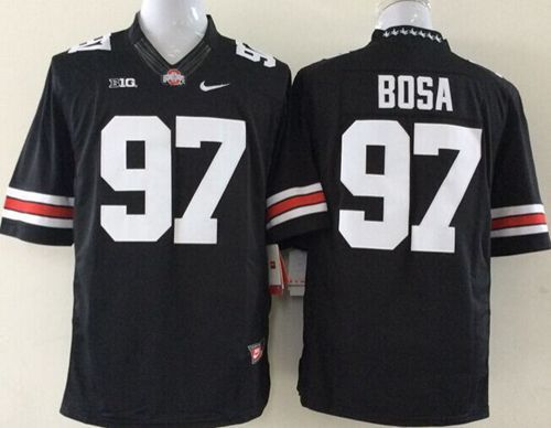 ohio state limited black jersey