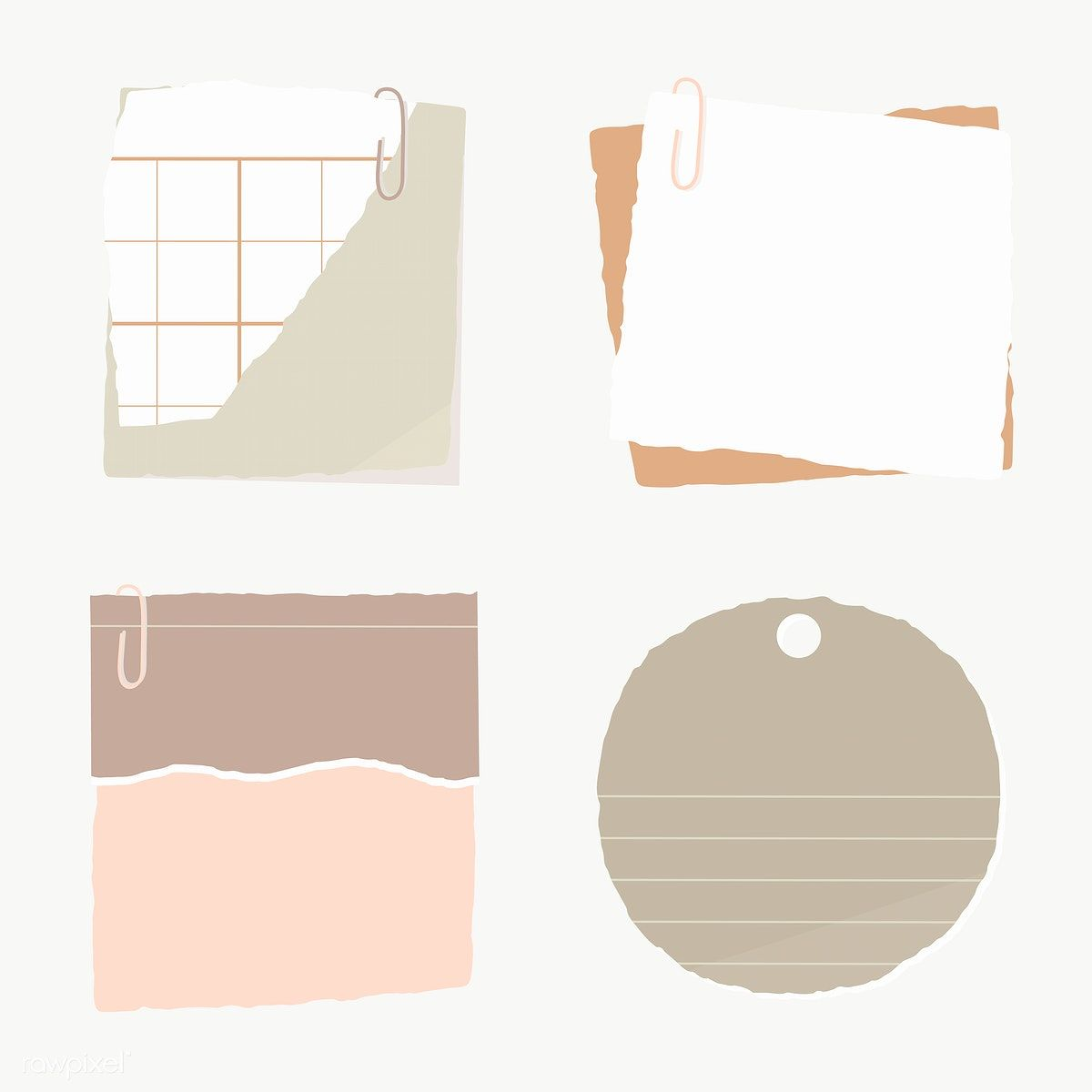 Torn Paper Note Collection Social Ads Template Transparent Png Free Image By Rawpixel Com Manotang Note Paper Torn Paper Background Paper Free