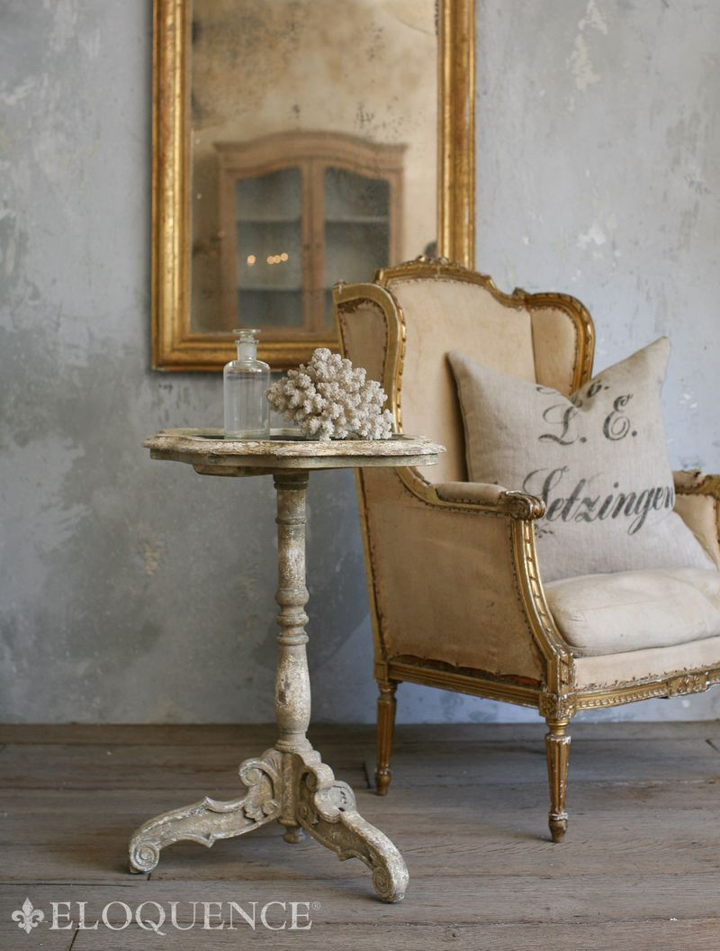 Charming Table And Wall Treatment