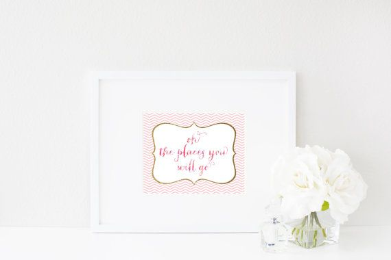 Oh, the places youll go. Wall Art Print