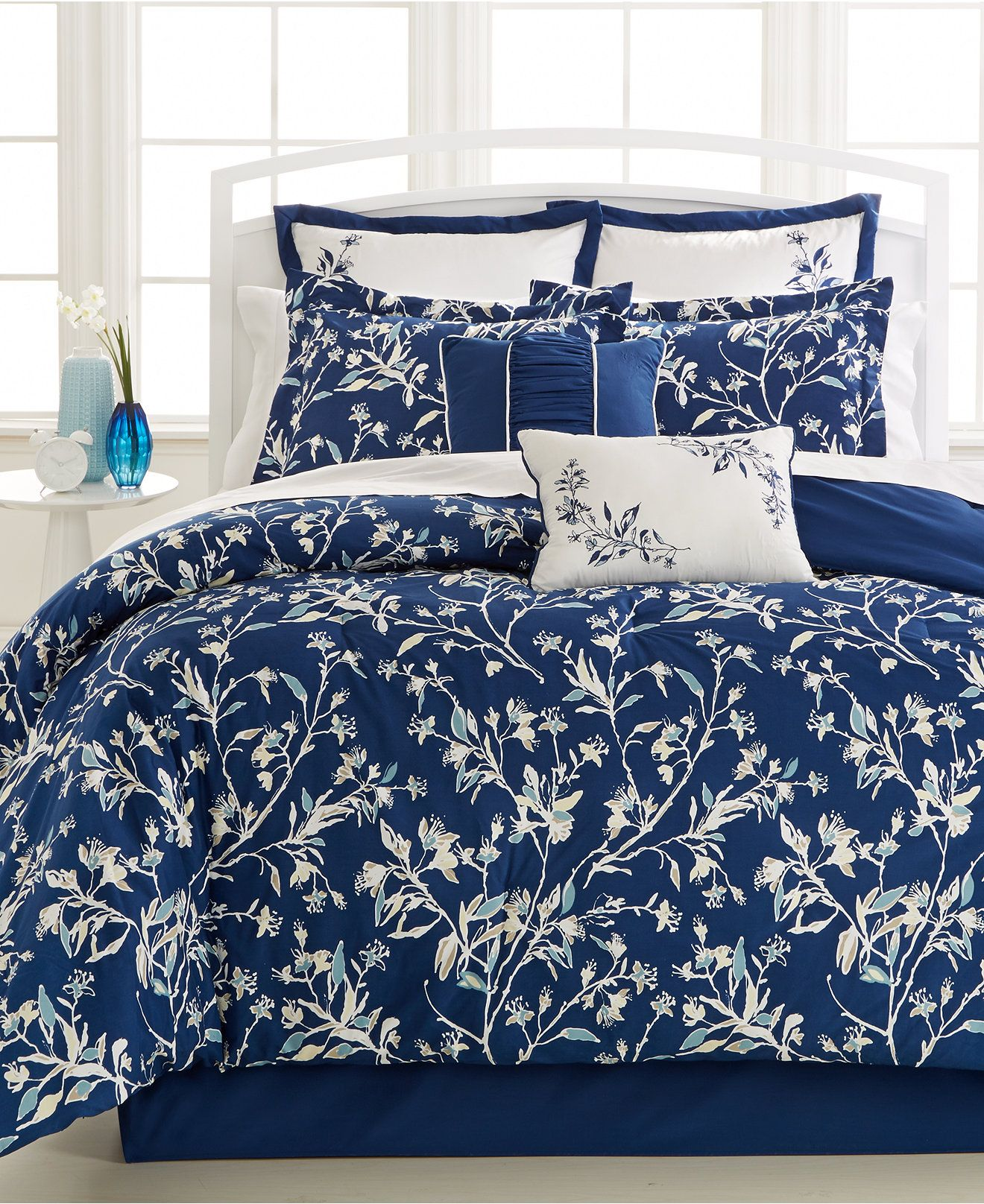 Carina 8 Piece Comforter Set Bed In A Bag Bed Bath Macy S