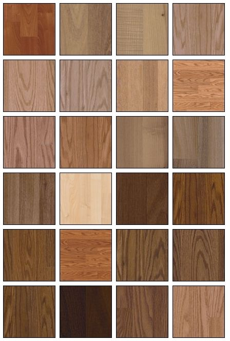 Wood laminated flooring we have yet to decide what color for Different colors of hardwood floors