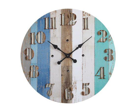 Waterside Round Wall Clock