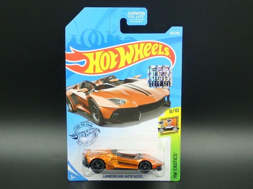 Hot Wheels New For 2013 HW Showroom All Stars Lamborghini Aventador J Dark Red