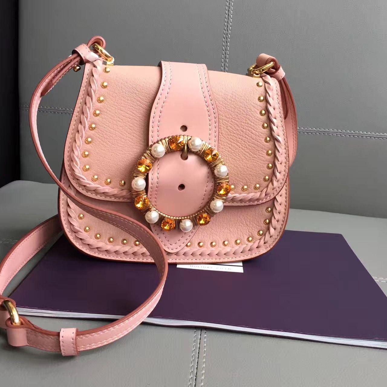 1fd1b907c84e Miu Miu Monk Shoulder Bag 100% Authentic 80% Off
