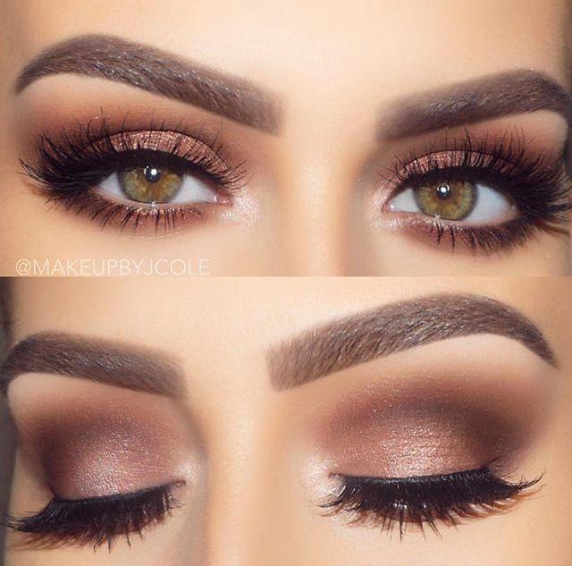 Soft Brown Eye Makeup Hazel Eye Makeup No Eyeliner Makeup Makeup For Hazel Eyes