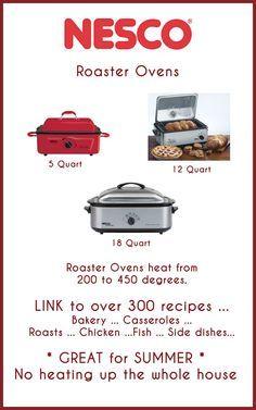 electric roaster ovens not only for turkey link to over 300 rh pinterest com nesco roaster oven manual 6 qt nesco roaster oven recipes prime rib