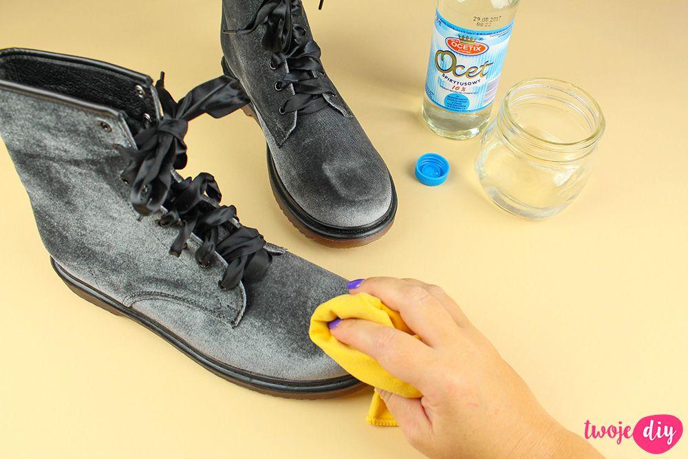 Jak Wyczyscic Buty Z Zamszu I Nubuku 9 Domowych Sposobow Twoje Diy Shoes Combat Boots Home Hacks