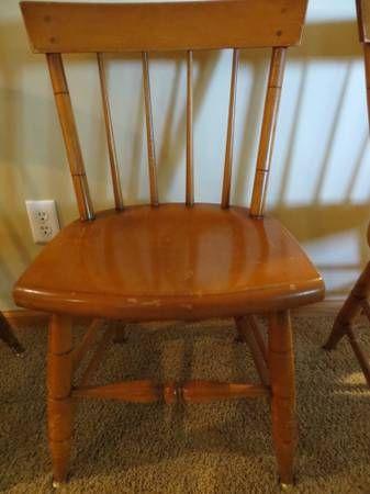 Willett Furniture...maple Lancaster County Chair Craigslist