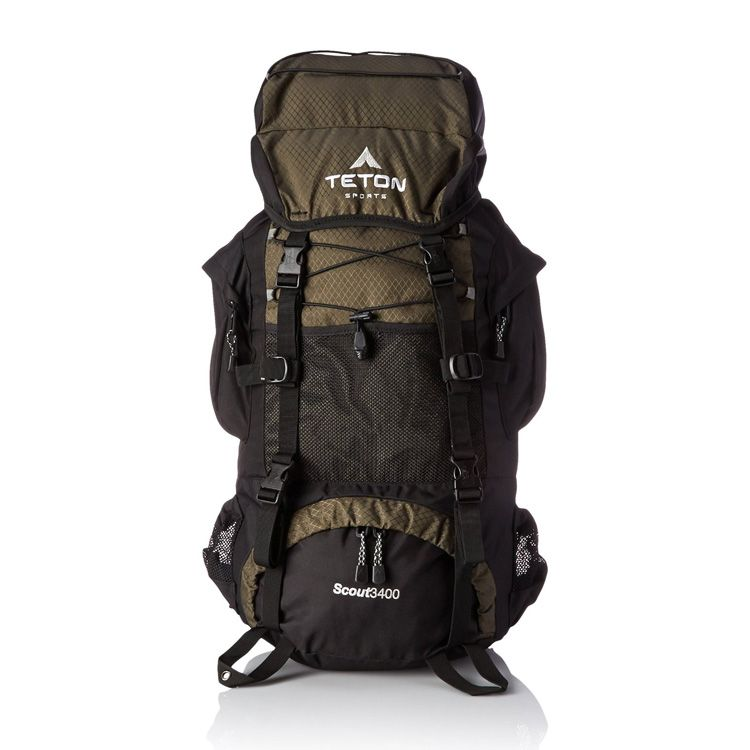 TETON Sports Scout3400 Internal Frame Backpack | Backpacks ...
