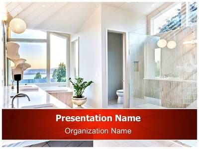 bathroom powerpoint template is one of the best powerpoint, Modern powerpoint