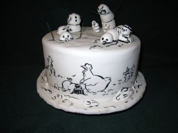 Best cake ever! I may try this one next year. I love Calvin and Hobbes and was so sad when they ended their run.