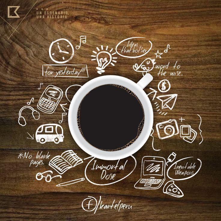 картинка реклама про кофе платежи