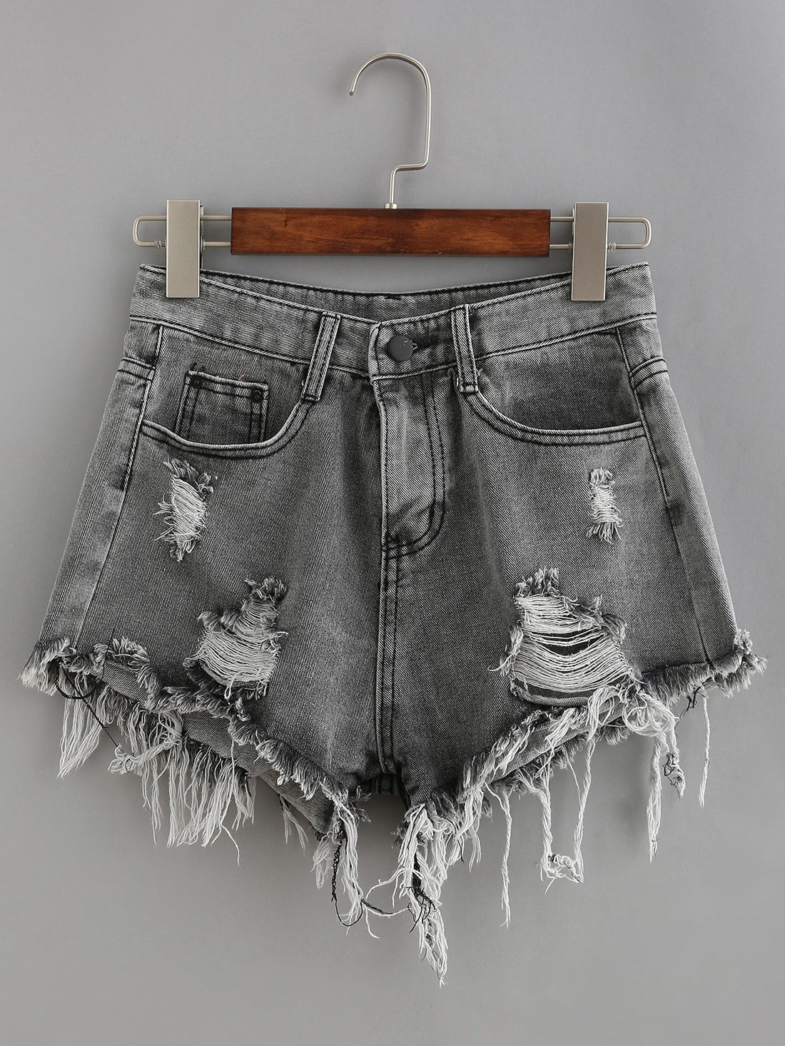 4e93afd5 Shop Raw Hem Denim Shorts online. SheIn offers Raw Hem Denim Shorts & more  to fit your fashionable needs.