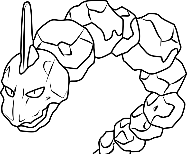 Some Of The Colouring Page Names Are 095 Onix Pokemon How To Draw Onix Geodude Geodude Pokemon On In 2021 Pokemon Coloring Pikachu Coloring Page Pokemon Coloring Pages