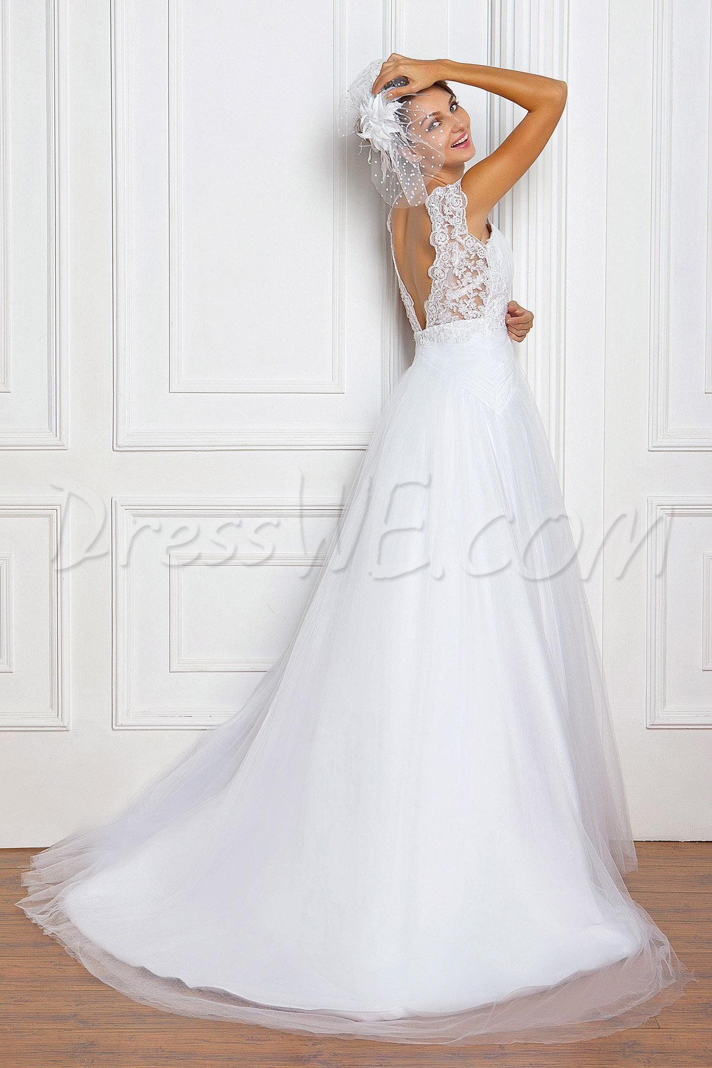 Charming aline straps floorlength court lace miriamaus wedding