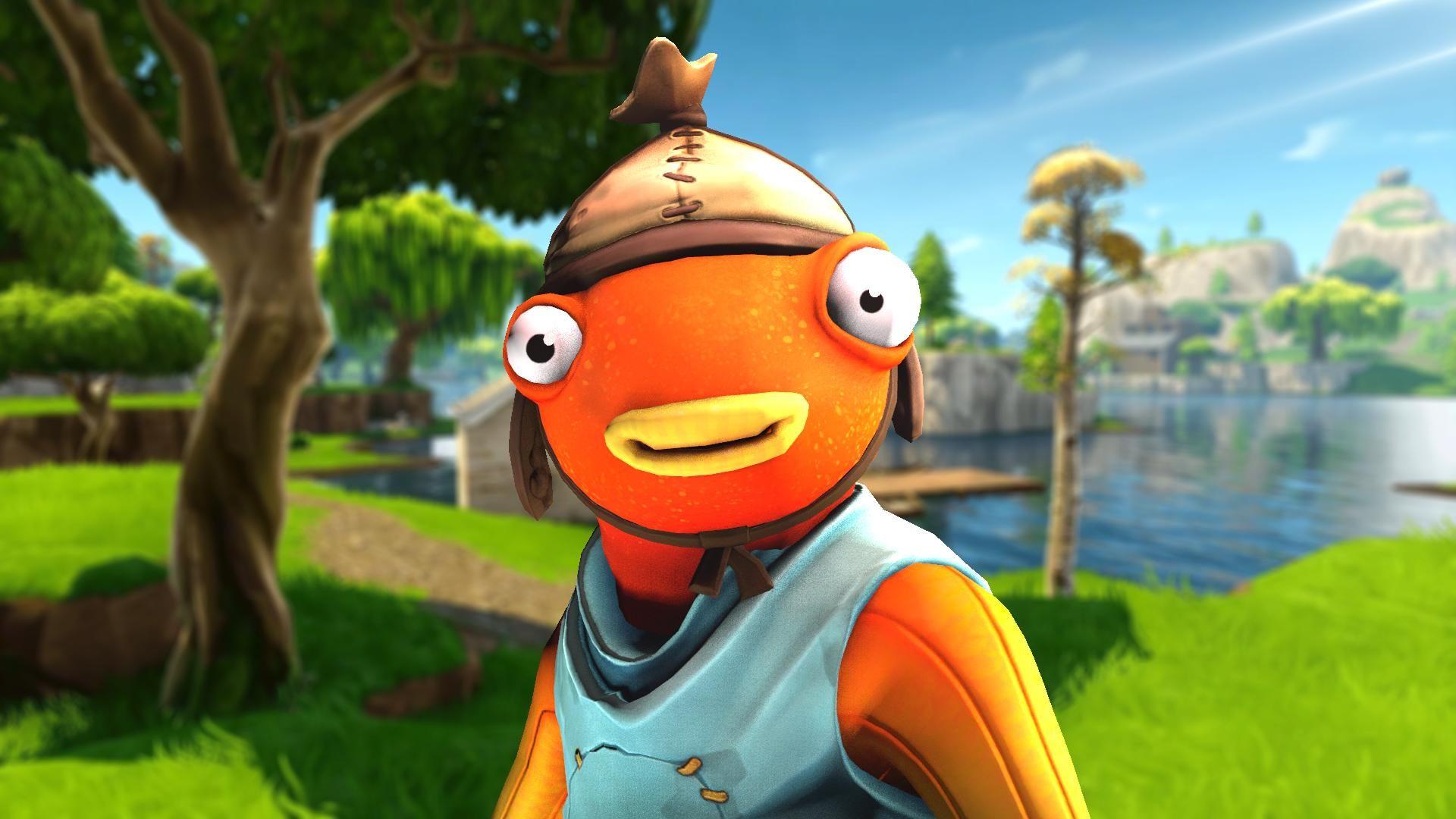 Los Nuevos Conceptos Skin Convierten A Fishstick Como Ninja Y Drlupo Gaming Wallpapers Best Gaming Wallpapers Funny Iphone Wallpaper