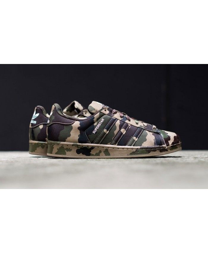 new style 57049 f47d9 Adidas Superstar Camo Graphic Pack Shoes