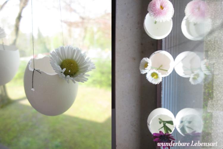 DIY: kleine Osterdeko für das Fenster