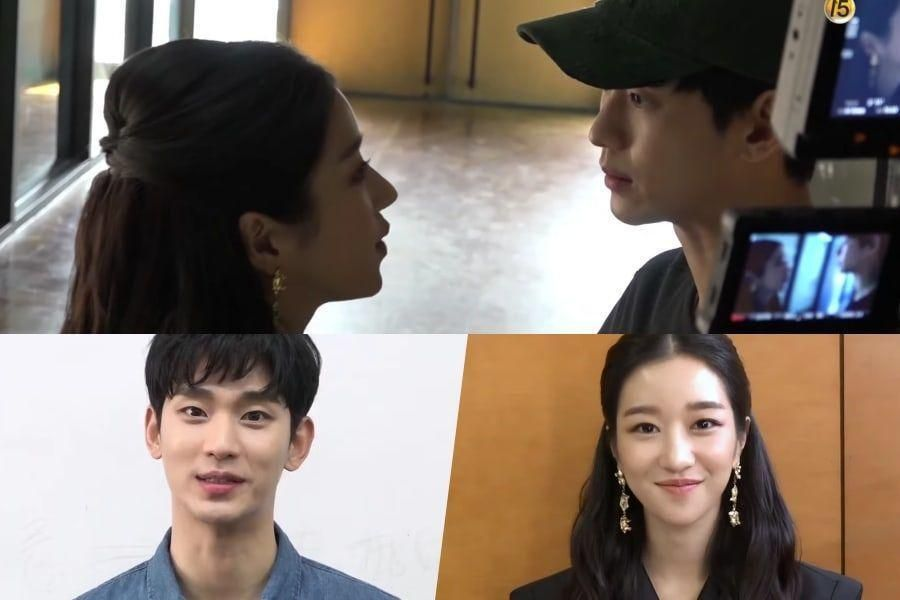 Watch: Kim Soo Hyun And Seo Ye Ji Share Their First Day On The Set Of Upcoming tvN Drama