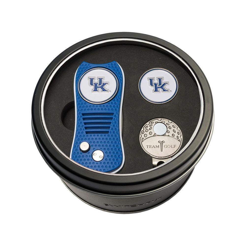 best website c3d87 299bb Team Golf Kentucky Wildcats Switchfix Divot Tool, Cap Clip   Ball Marker Set,  Multicolor