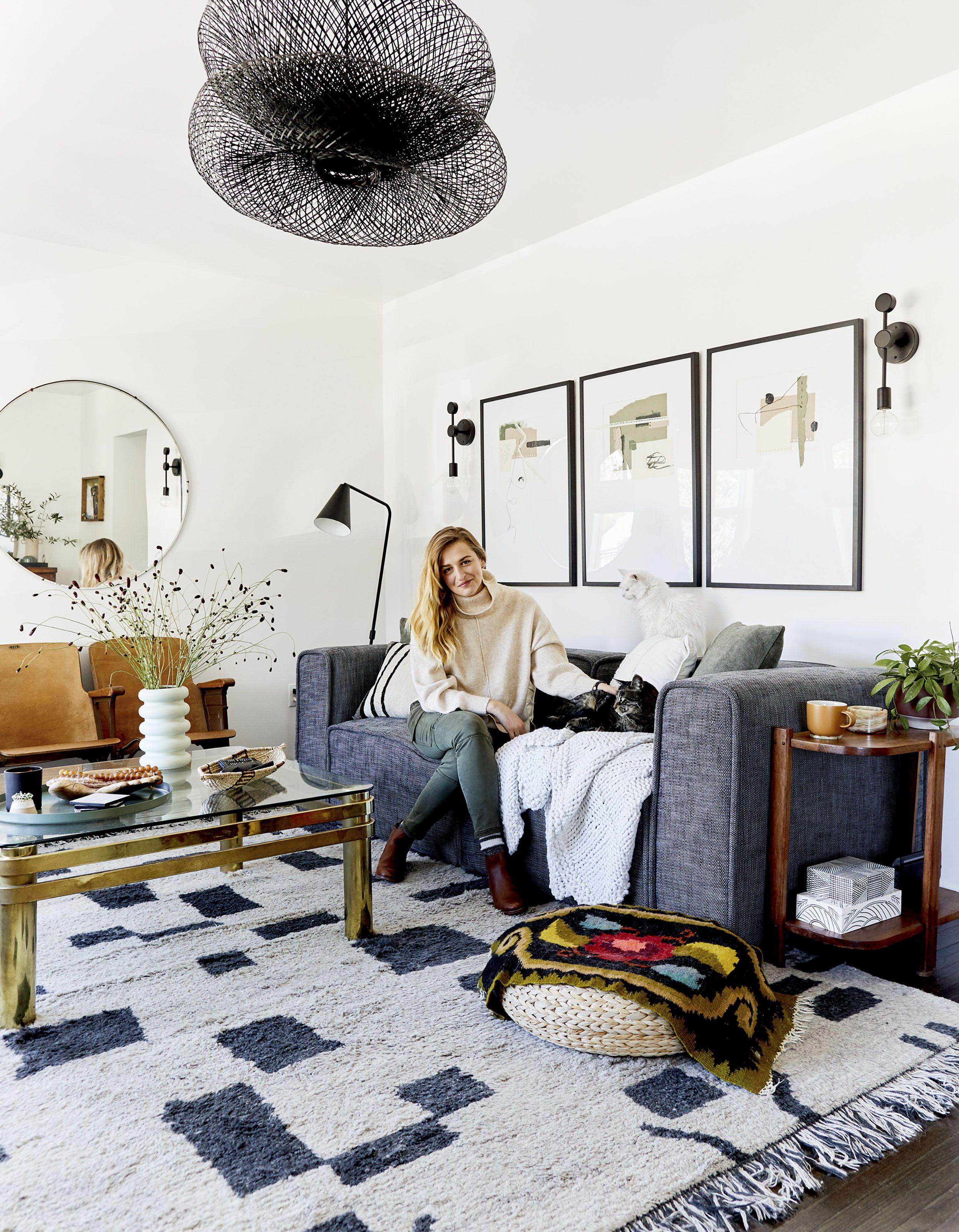 Emily Henderson Design Blog Living Room Makeover Emily Henderson Living Room Eclectic Living Room #small #living #room #makeover