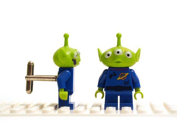 Cufflinks Toy Story Alien Cufflinks Cufflinks Made