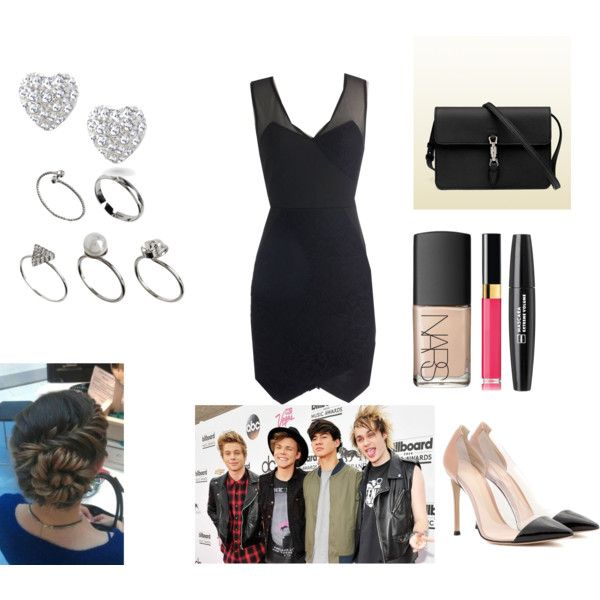 """""""Attending the Billboard Music Awards with 5 Sauce"""" by ellamariestyles on Polyvore"""