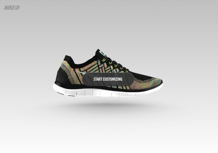 Dignan's 75 Year Plan: Nike Free 5.0: Mass Customization | Marketing idea |  Pinterest