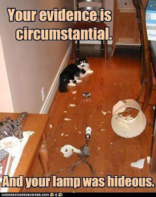 Circumstantial.......!