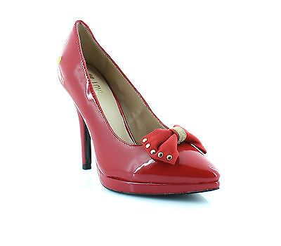Love Moschino JA1007BC0WJC250A Red Womens Shoes Size 6.5 M Heels MSRP $295