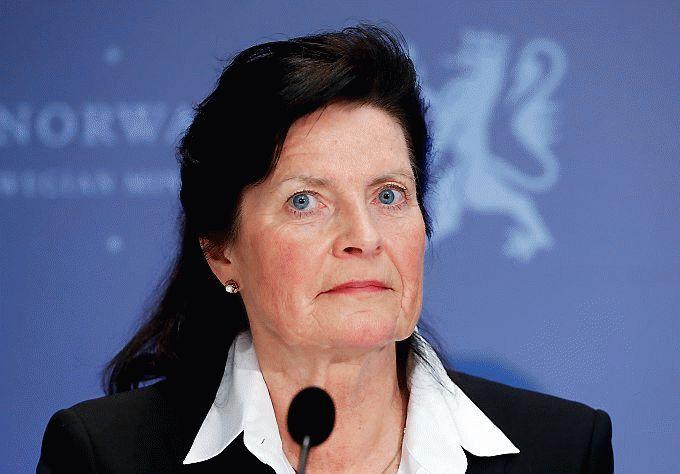– Sylvi Listhaug anklager oss for å svartmale, men kan ikke selv det systemet hun ivrer etter å forandre, anklager Merete Furuberg. Foto: Erik Johansen / NTB scanpix.