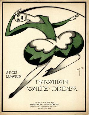 Hawaiian Waltz dream, 1919 (ill.: W.S.G. (monogram)); ref. 14712