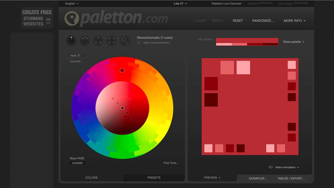 Farbpalette erstellen mit Paletton | farbe | Pinterest ...