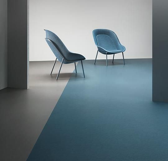 3360 vintage blue Marmoleum Natural Linoleum Kitchen Ideas