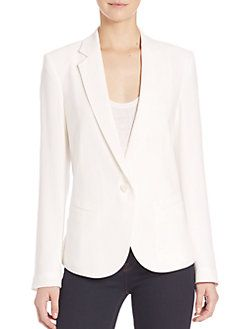 66f1916356a4 Theory - Robiva Admiral Crepe Jacket | Italy in the Fall | Jackets ...