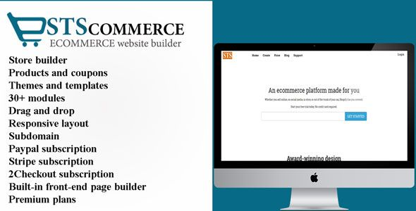 STSCommerce eCommerce site build… | PHP Scripts, builder